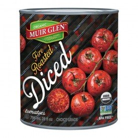 Muir Glen Tomato Fire Roasted Diced Org.