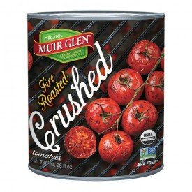 Muir Glen Tomato Fire Roasted Crushed Org.