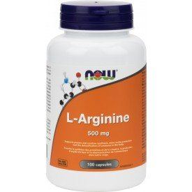 NOW L-Arginine 500mg [FreeForm]