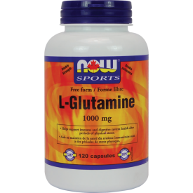 NOW L-Glutamine 500mg free form
