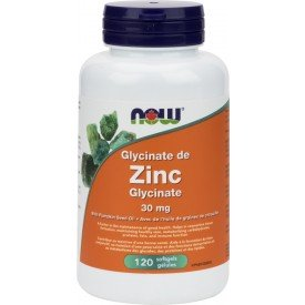 NOW Zinc Glycinate 30mg
