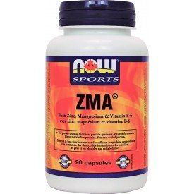 NOW Zma 800mg with Zinc, Mg, B-6