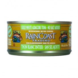 Raincoast Trading Wild Albacore Tuna Solid White No Salt Added