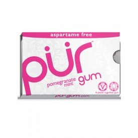 PUR Gum Pomegranate Mint