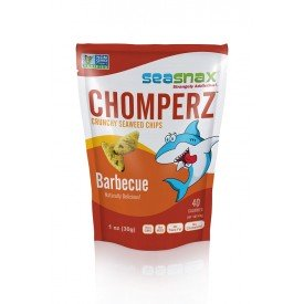 SeaSnax Seaweed Chips Barbecue Chomperz
