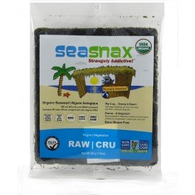 SeaSnax Seaweed Sheets Raw