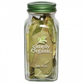 Simply Organic Whole Bay Leaf Bottled Spice