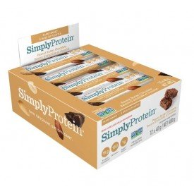 Simply Protein Simply Plant-based Protein Bar Peanut Butter Chocolate