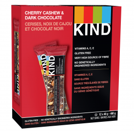 Kind Snack Bar Dark Chocolate Cherry Cashew Plus