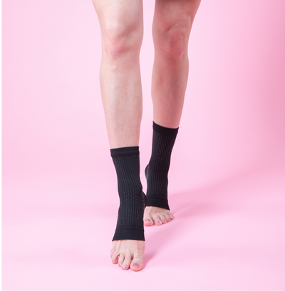 Open Toe Compression - Black