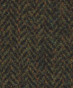 Blazer Tweed Herringbone Green