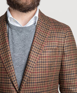 Casual Checked Loro Piana Jacket