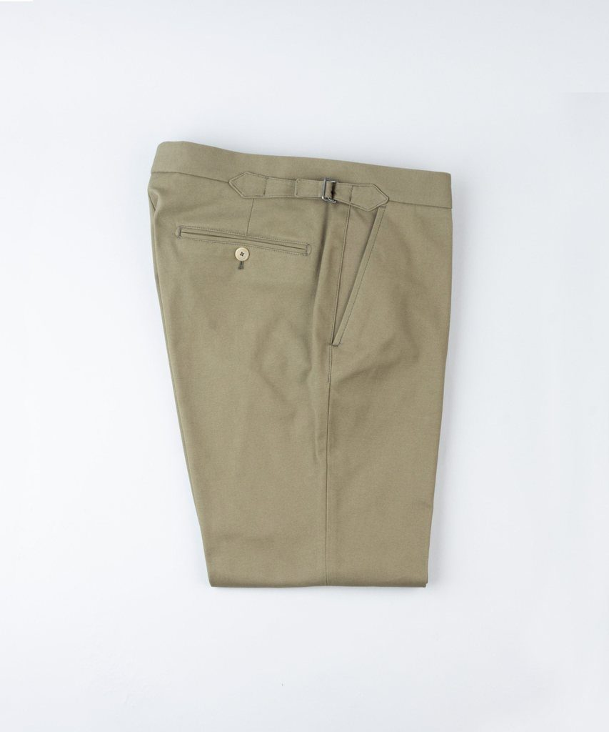 Trousers Panama Olive