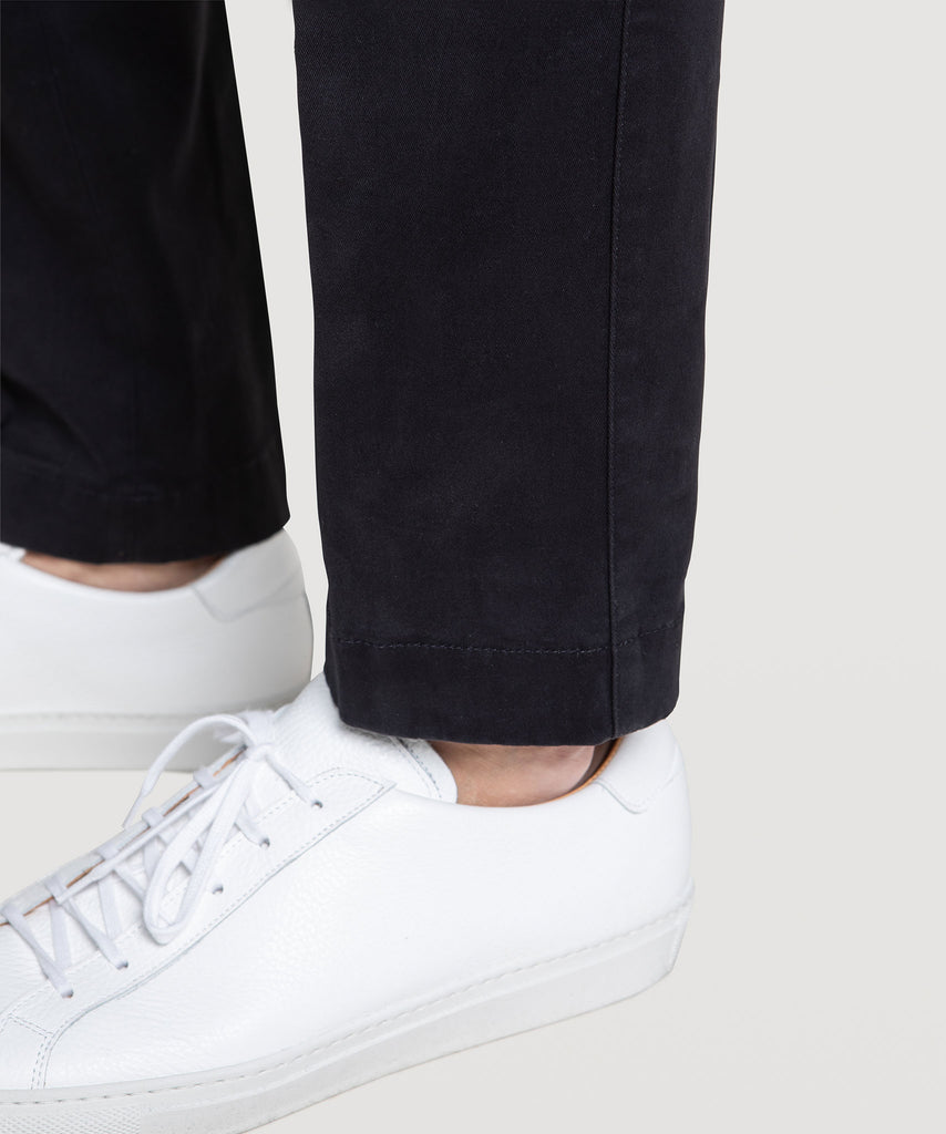Elastic Heavy Twill Trousers