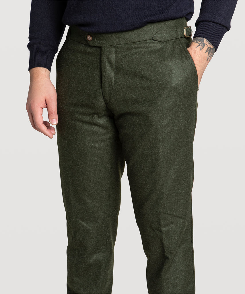 Heavy Flannel Trousers