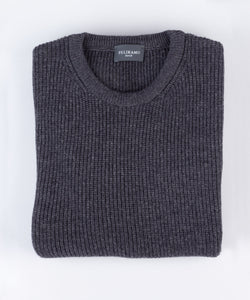 Heavy Ribbed Roundneck Sweater
