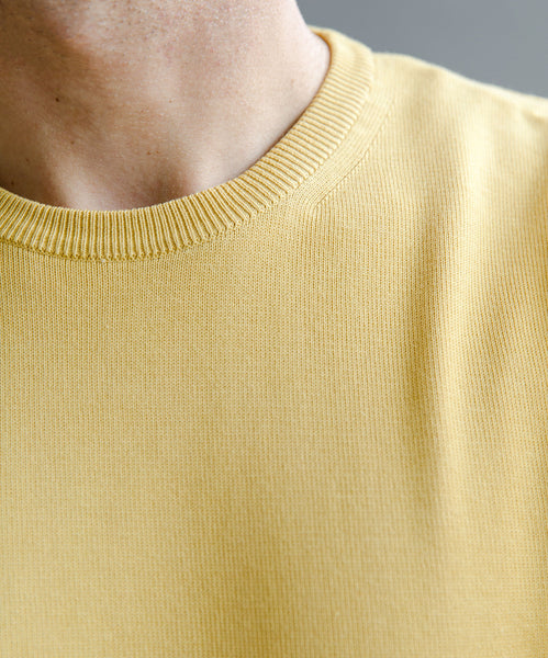 Light Cotton Crewneck Sweater