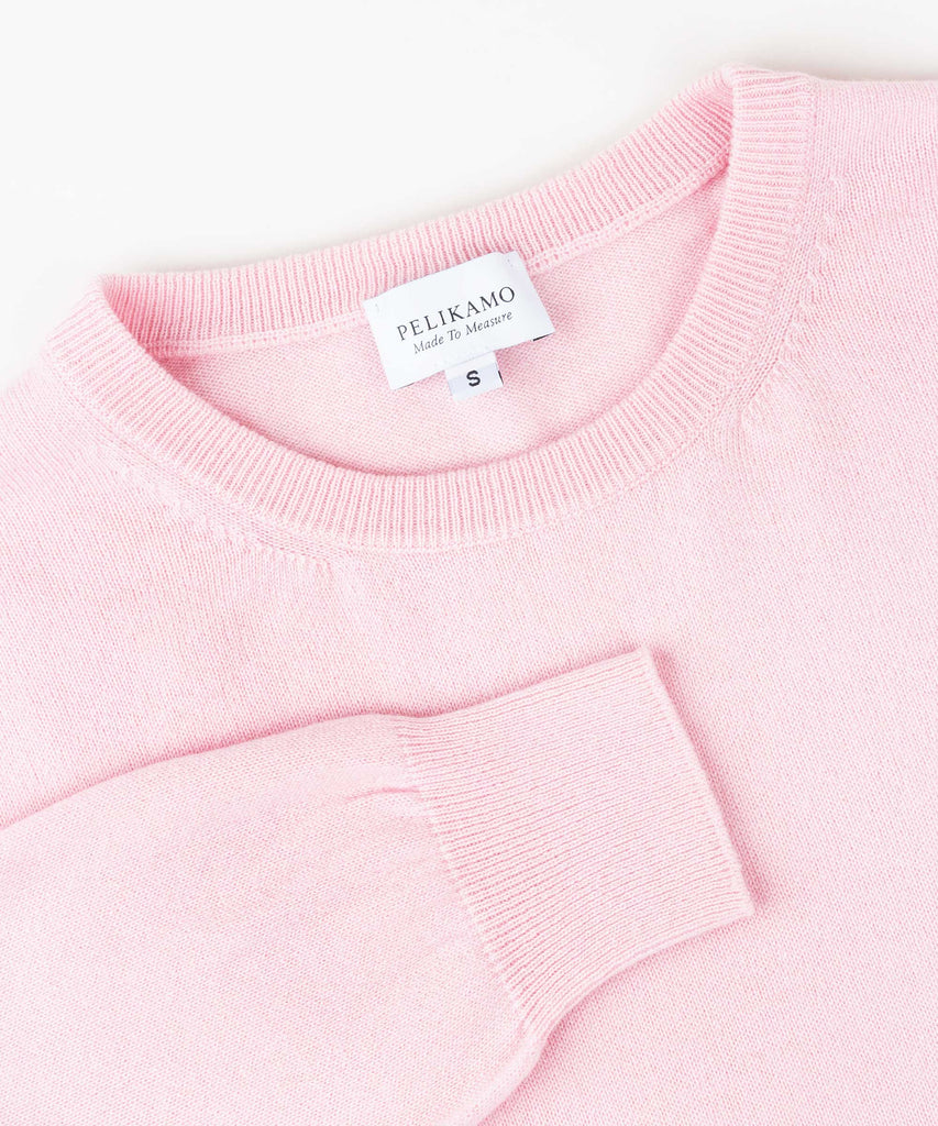 Made To Order Cashmere Roundneck Sweater