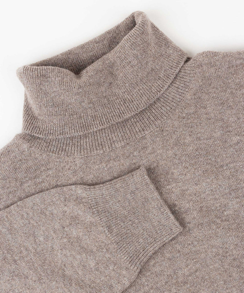 Made To Order Cashmere Roll Neck Sweater