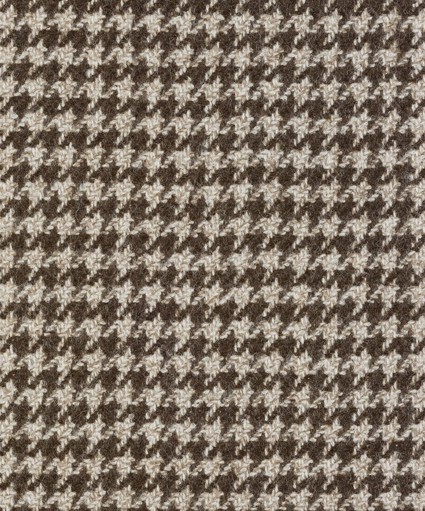 Blazer Natural Houndstooth Brown