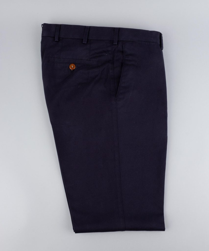 Trousers Twill Dark Navy