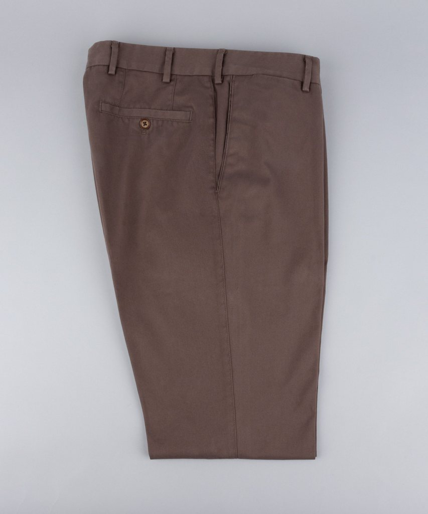 Trousers Twill Taupe