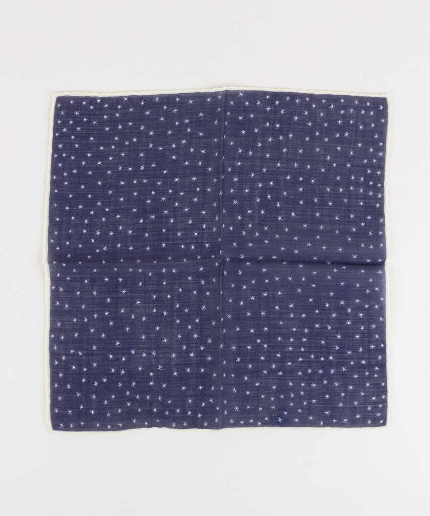 Pocket Square Snow Flake