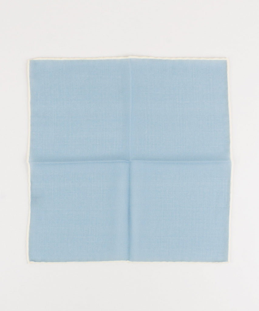 Wool Pocket Square Plain