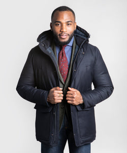 Wool Casual Parka