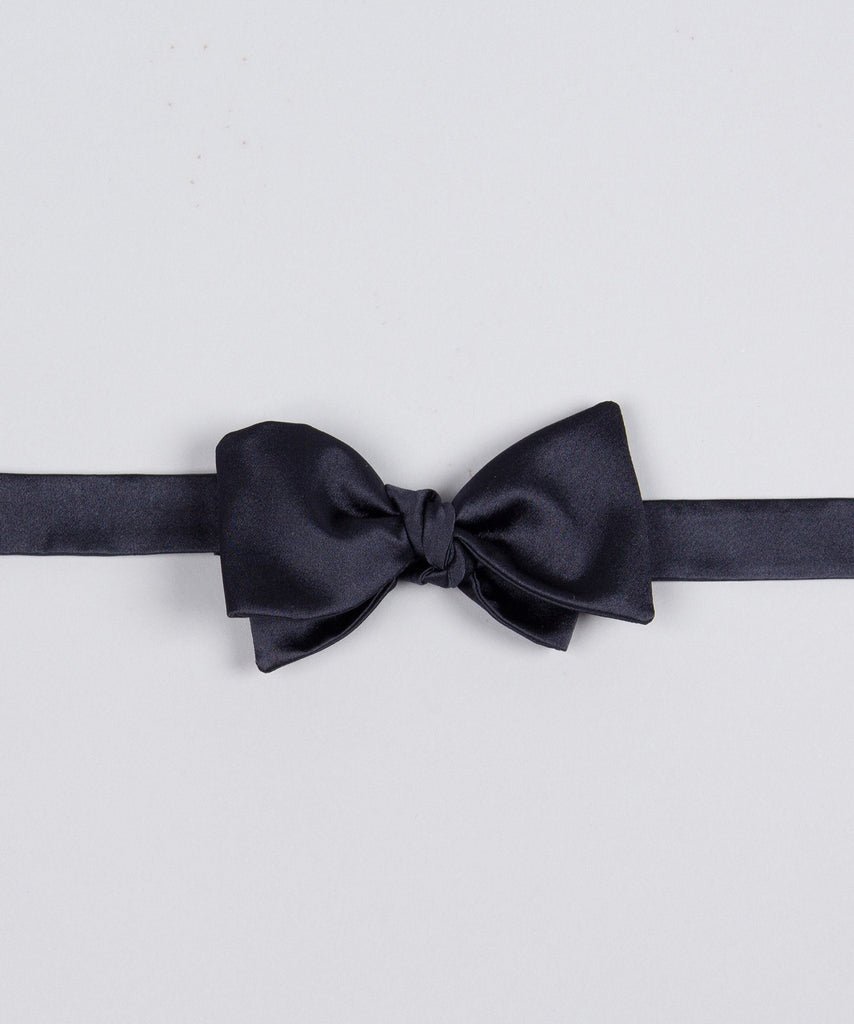 Bow Tie Shiny - Midnight Blue - Pelikamo