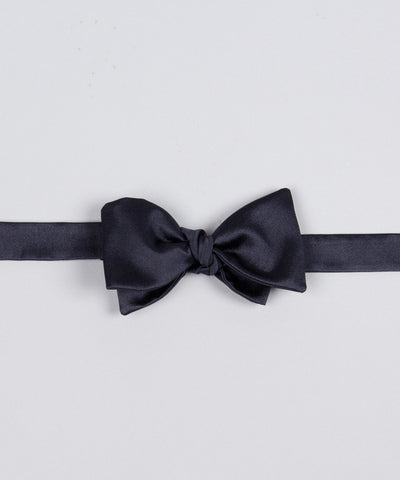 Bow Tie Shiny - Midnight Blue