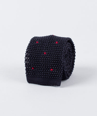 Knitted Tie Dots