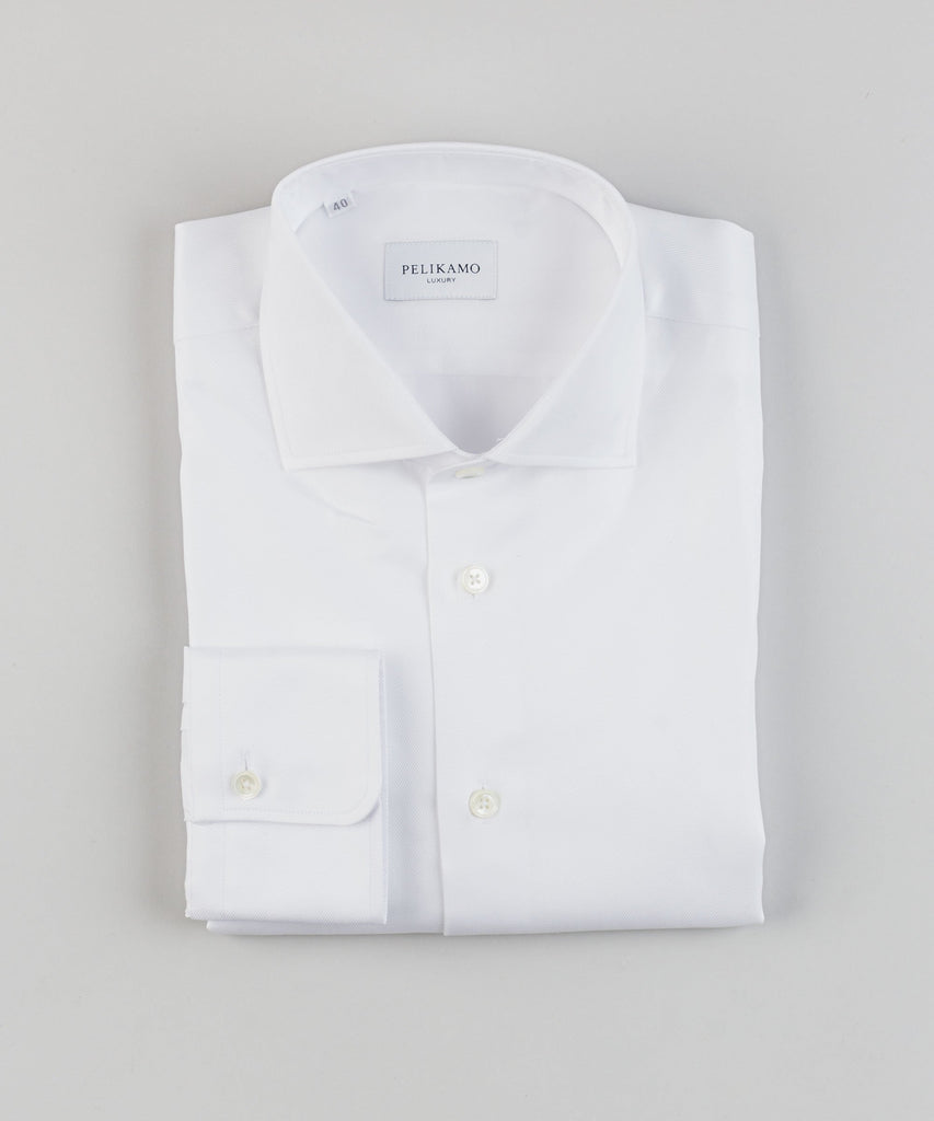 Luxury Shirt Herringbone - Pelikamo