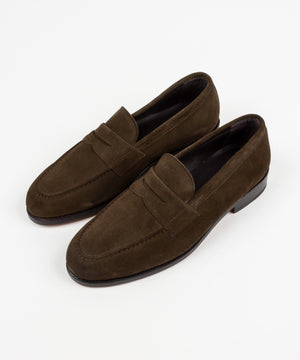 Suede Loafer