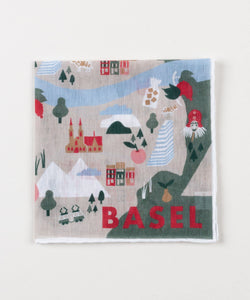 Linen Pocket Square Basel