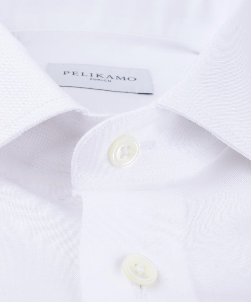 Essential Shirt Pinpoint White