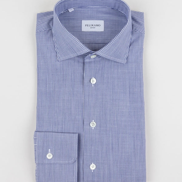 Thin Striped Chambray Shirt