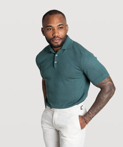 Short sleeved Polo Sweater