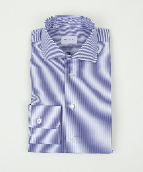 Travel Shirt Thin Stripes
