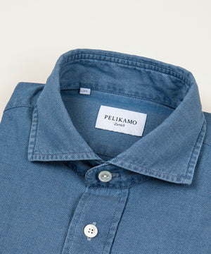 Washed Indigo Shirt