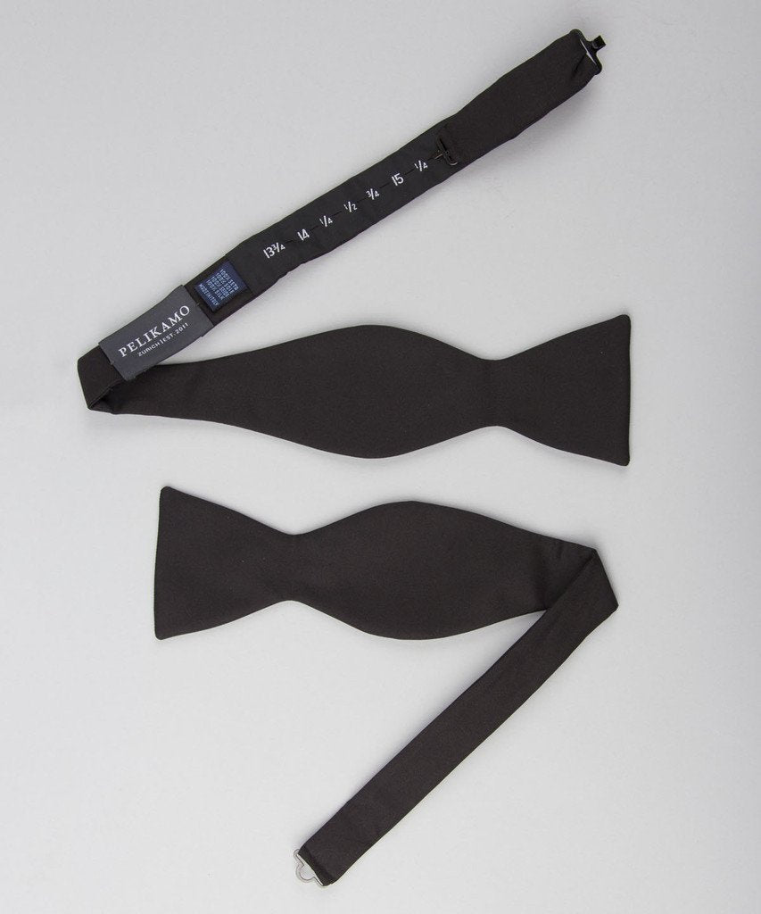 Bow Tie Shiny - Black - Pelikamo