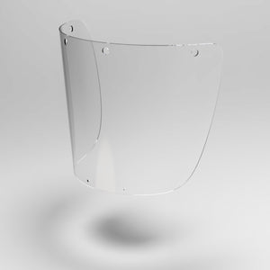 Replacement Mobile Face Shield Fronts (10 Pack)