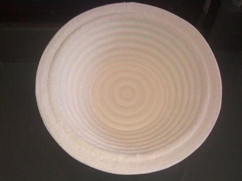 750g Ridged Round German-made Banneton, Brotform or Proving Basket