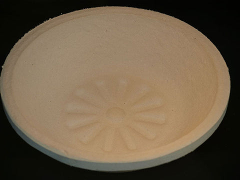 1Kg Round with Daisy Pattern German-made Banneton, Brotform or Proving Basket