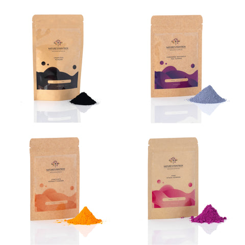 4-Colour Sample Pack Nature's Paintbox Natural Pigments