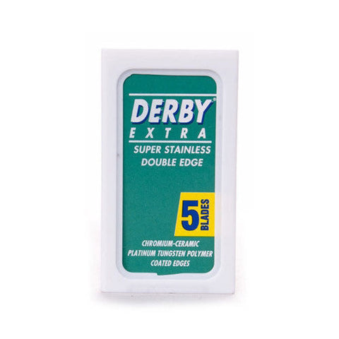 Pack of 5 Derby Razor Blades