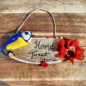 Home Tweet Home - wall hanging