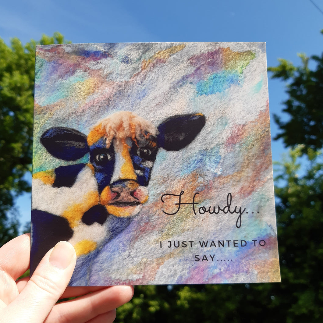 Howdy - Greeting Card