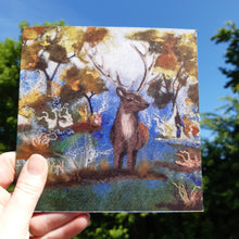 Load image into Gallery viewer, Hello Deer - Greeting Card