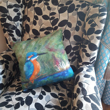 Load image into Gallery viewer, Kingfisher  - Cushion Cover